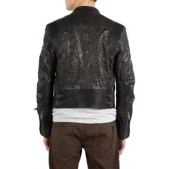 Proton | Протон - Дизайнерская мужская кожаная куртка