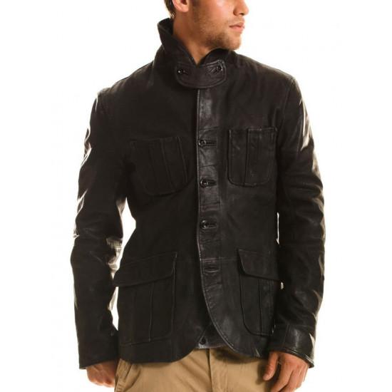 Мужская кожаная куртка - Hudson | Гудзон