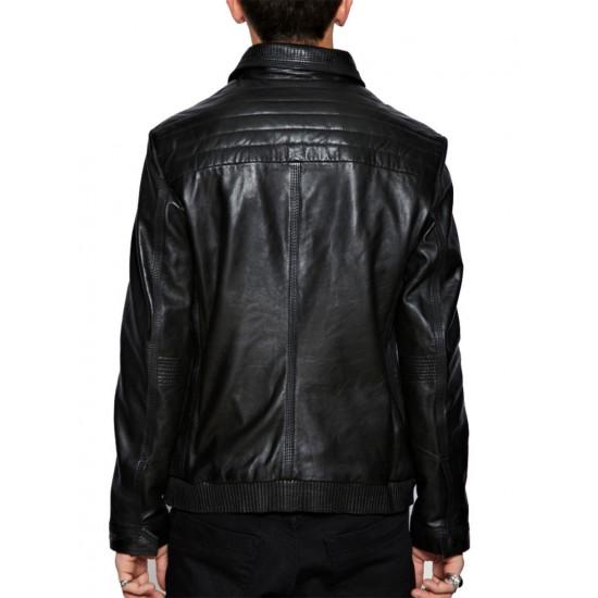 Мужская кожаная куртка - Stinger | Стингер VorteLeather™️