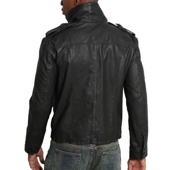 Мужская кожаная куртка - Striker | Страйкер