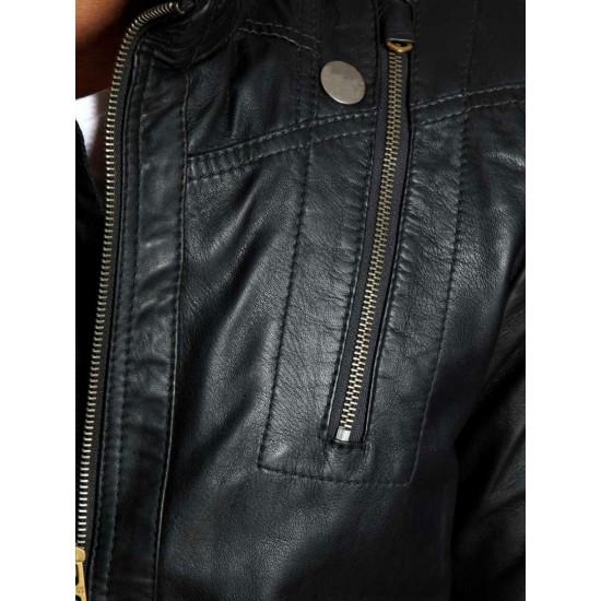 Torcida | Торсида - Мужская кожаная куртка