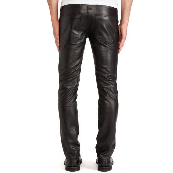 Мужские кожаные брюки F-2 | F-II