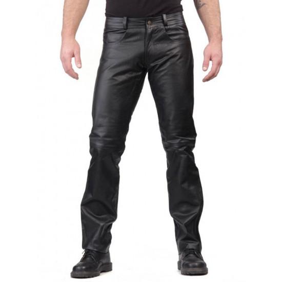 Мужские кожаные брюки F-1 | F-I