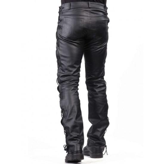 Мужские кожаные брюки Voyager | Вояджер