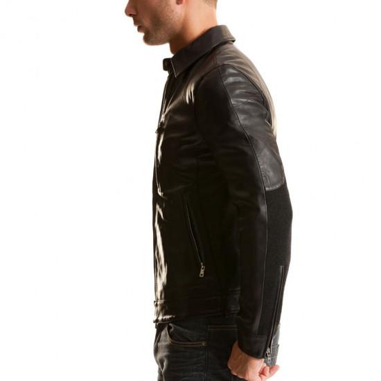 FORSAGE | ФОРСАЖ - Мужская кожаная куртка