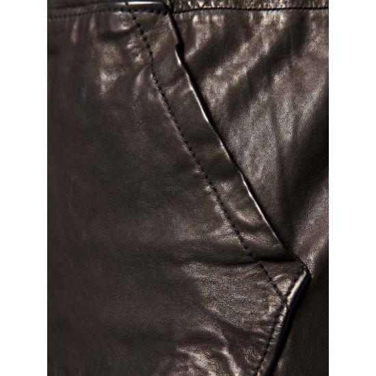 Мужская кожаная куртка - Stalker | Сталкер