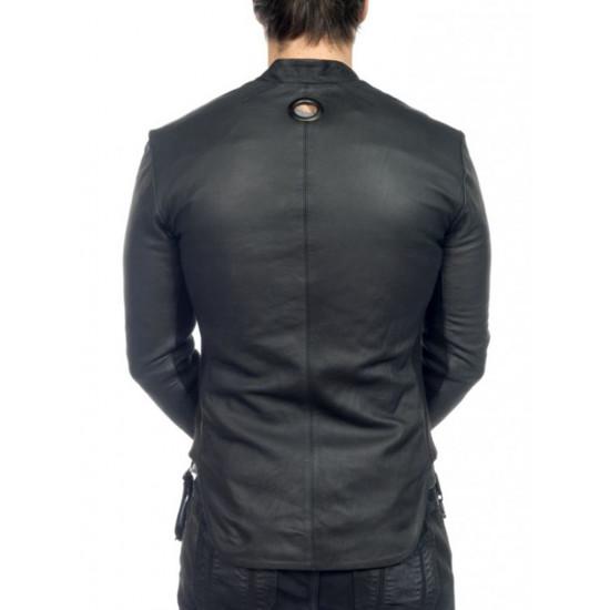 Дизайнерская мужская кожаная рубашка - Jakudza | Якудза