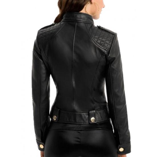 Женская кожаная куртка - Plaza II | Плаза II