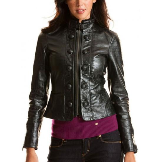 Женская кожаная куртка - Rio Croc | Рио Крок
